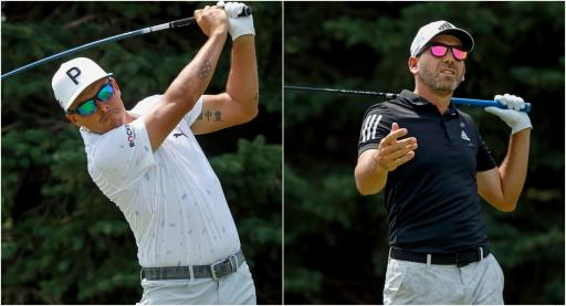 Rickie Fowler LOSES GROUND at 3M OPEN as Sergio Garcia TAKES CHUNK out of green!