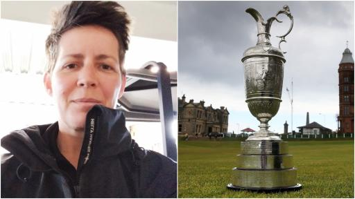 First female greenkeeper works full time on the Old Course at St Andrews