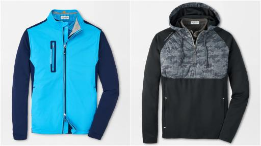 Best Peter Millar Golf Performance Jackets to stave off inclement weather!