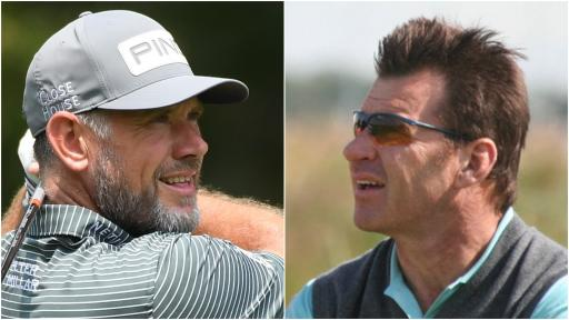 Sir Nick Faldo CALLS OUT Lee Westwood's stock yardage post on Twitter
