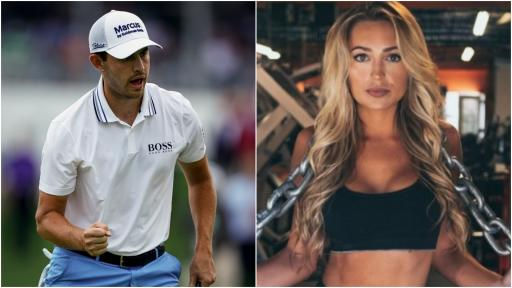 Who is Patrick Cantlay's girlfriend Nikki Guidish?