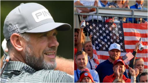 Lee Westwood FIRES SHOTS at the American crowd at Solheim Cup