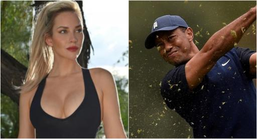 Paige Spiranac RESPONDS as she leads Tiger Woods in Instagram followers