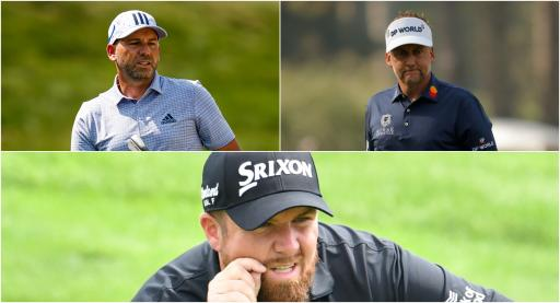 Ian Poulter, Sergio Garcia and Shane Lowry chosen for Europe Ryder Cup side