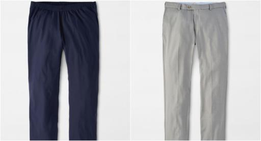 The BEST Peter Millar Golf Trousers before the Ryder Cup!