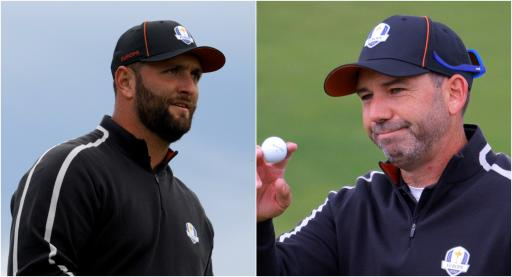 Jon Rahm and Sergio Garcia PAIRED TOGETHER in first session of Ryder Cup