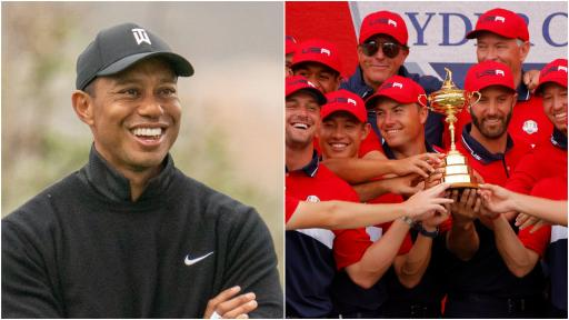 Tiger Woods praises USA team after RECORD win at the Ryder Cup