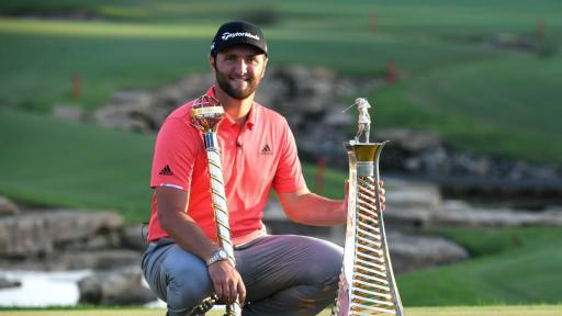 Jon Rahm named 2019 Hilton European Tour Golfer of the Year