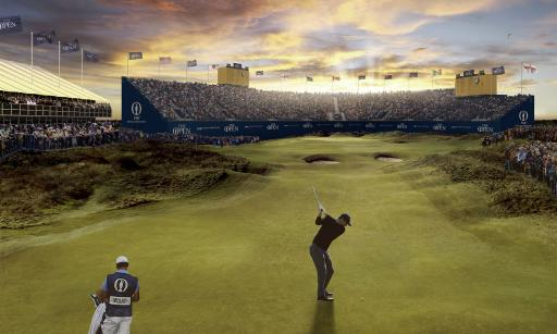 The Open: Here's why you DO NOT want to find the drop zone at 18...