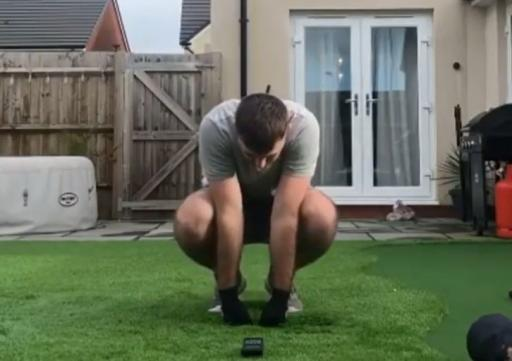 WATCH: Swing speed training goes HORRIBLY WRONG for this golfer!