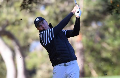 Jordan Spieth hits the front at AT&T Pebble Beach Pro-Am