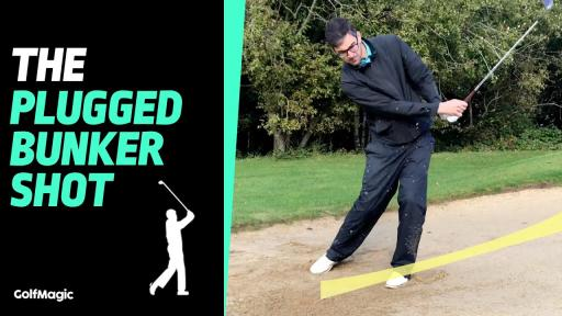 Howto play the plugged bunker shot