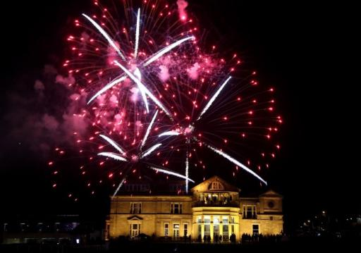 Fireworks make it a spectacular Saturday at St Andrews