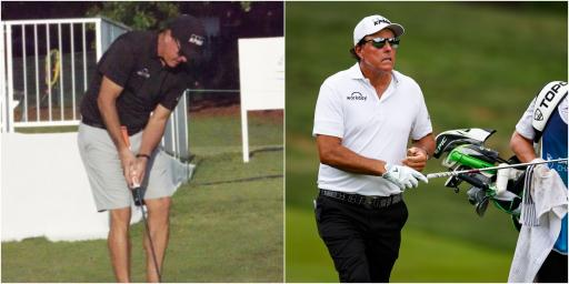 Fortinet Championship: Ryder Cup vice-captain Phil Mickelson uses armlock putter