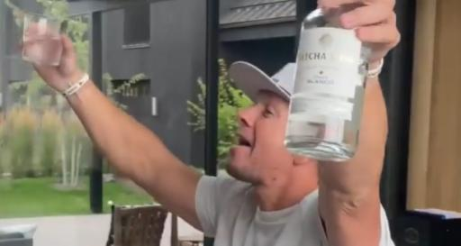 WATCH: Mark Wahlberg goes CRAZY after Abraham Ancer wins on PGA Tour!