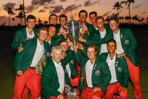 Team USA win third consecutive Walker Cup with incredible final day performance