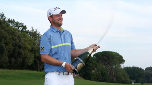 Bernd Wiesberger wins the Italian Open - what's in the bag?