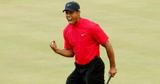 Tiger Woods storming up leaderboard in final round of BMW Championship