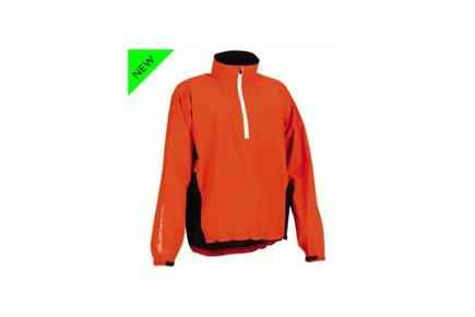 Air Half Zip Paclite Jacket - Lava/Black