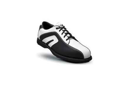 Derby Golf Shoes - White/Black