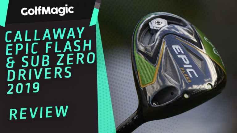 Callaway Epic Flash & Sub Zero Drivers Review | GolfMagic