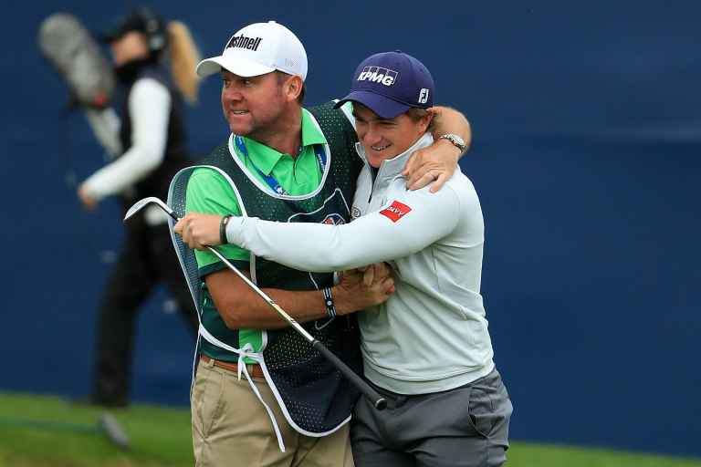 """Caddie on Dunne's British Masters win: """"I was confident at start of week"""""""