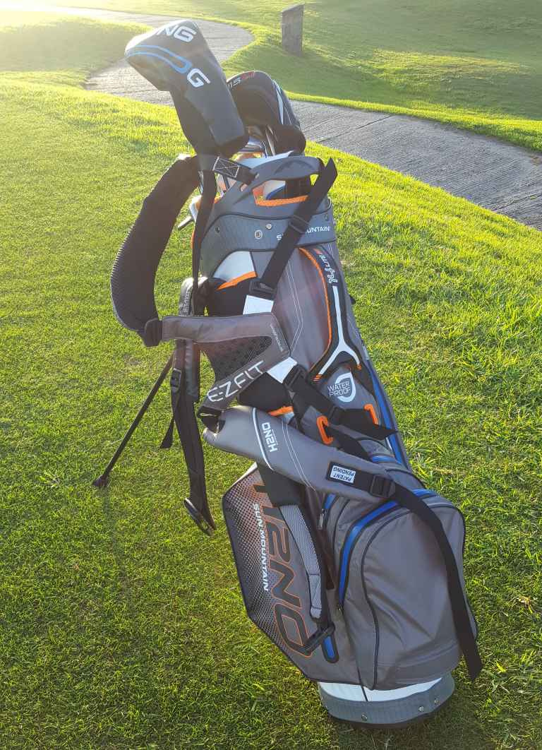 Sun Mountain H2NO Lite 14-way golf bag review