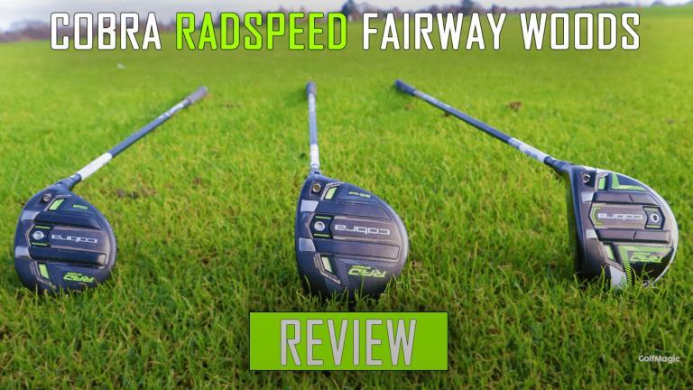 "Cobra RADSPEED Fairway Woods Review   ""IT WENT 300 YARDS!"""