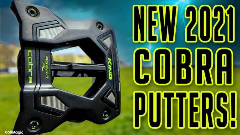 NEW Cobra Golf Putters Review for 2021: Vintage and 3D Printed