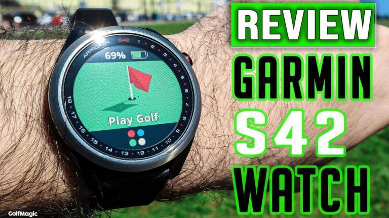 Garmin Approach S42 GPS Golf Watch Review 2021