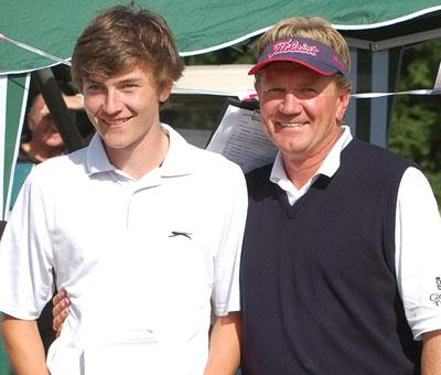 673403217 Former Ryder Cup golfer Paul Broadhurst and his son Sam narrowly failed to  win the British Father & Son Championship in a thrilling climax at De Vere  Belton ...