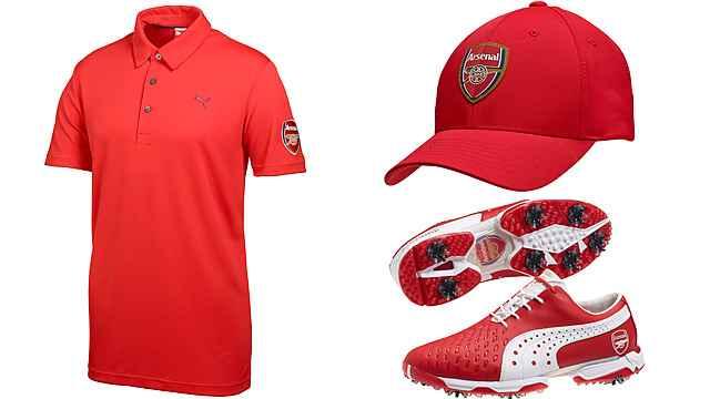 dabea4f9601d Cobra Puma launches Arsenal golf kit