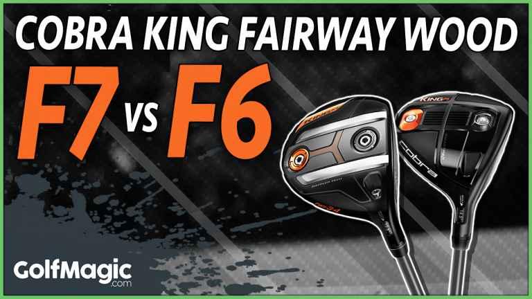 cobra king f7 fairway wood v cobra king f6 fairway wood