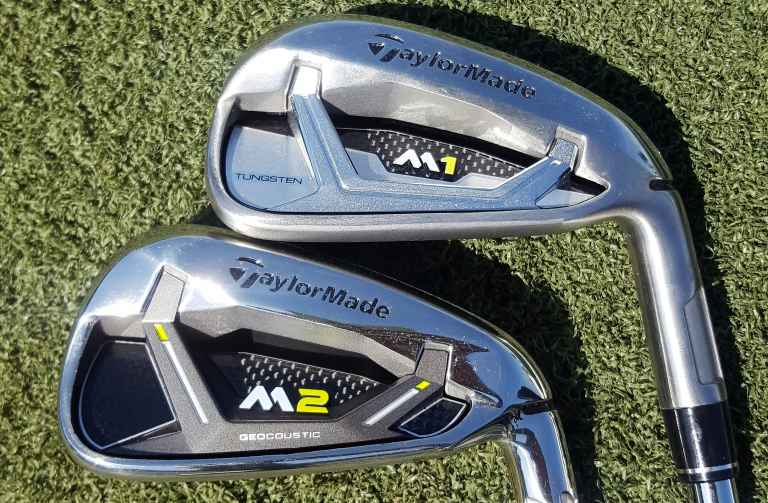 2017 TaylorMade M1 v M2 iron: how do they compare?   GolfMagic