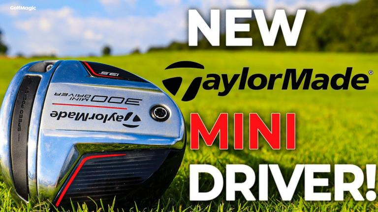 NEW TaylorMade 300 MINI DRIVER Review! Can this club replace your driver?