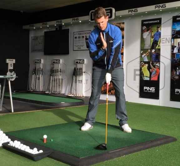 Get your left hip up to hit your best drives of the season