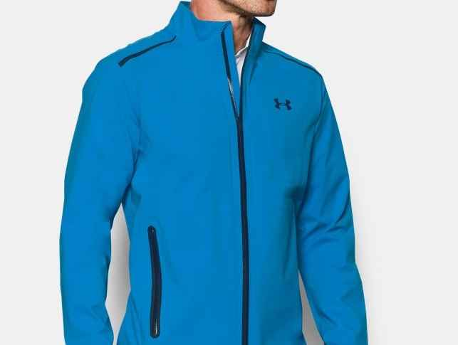c8eae5caa Under Armour's latest Storm Gore-Tex Paclite represents the perfect  waterproof golf jacket for you die-hard golfers this Autumn and Winter.