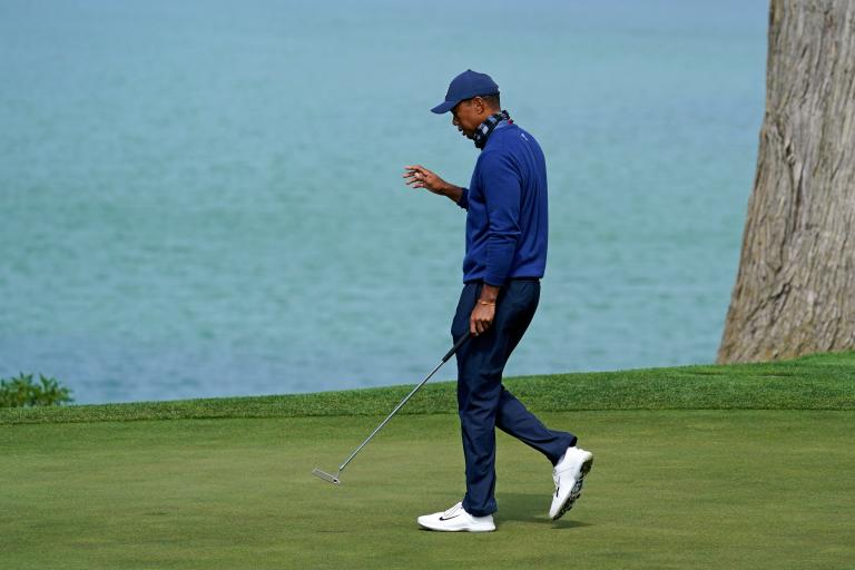 Tiger Woods happy with new putter at PGA Championship
