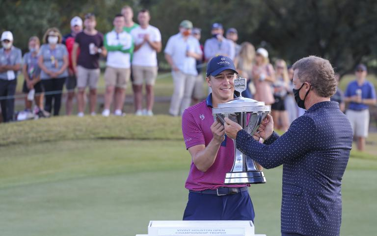 Carlos Ortiz: What's in the bag of the Houston Open winner