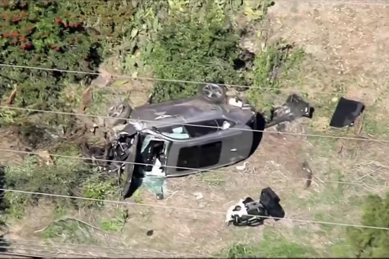 "Tiger Woods has ""no recollection"" of his car crash in Los Angeles"