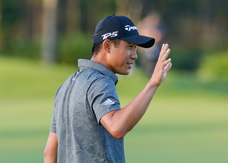 Eddie Pepperell uses Collin Morikawa win to remind juniors of the key to success