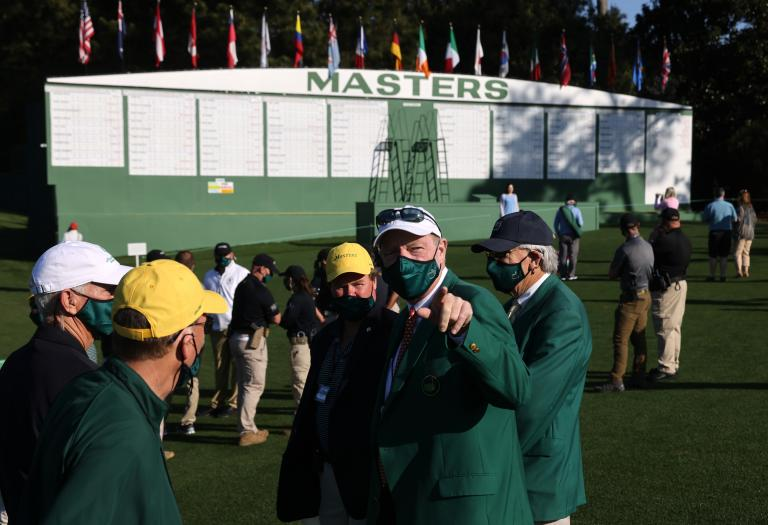 The day Craig Parry was confronted by a patron at The Masters