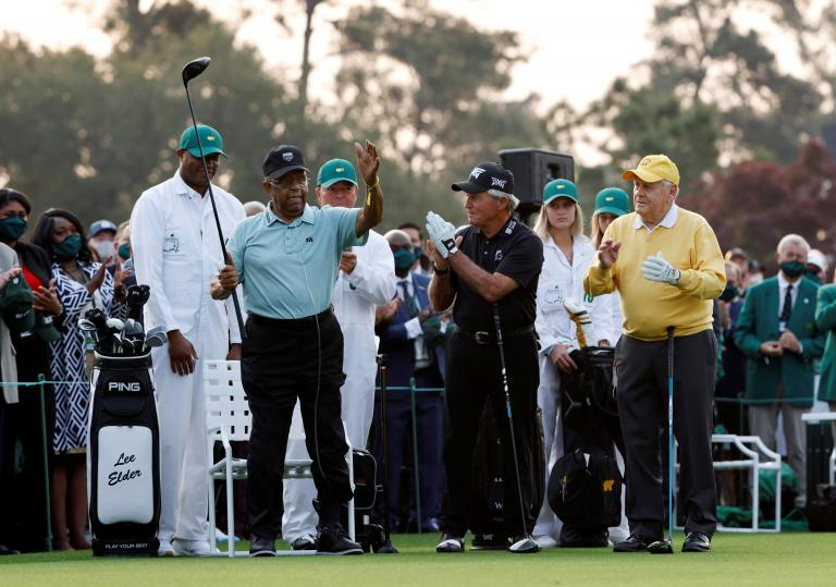 """Gary Player on his son's Masters controversy: """"Man's got to take his punishment"""""""