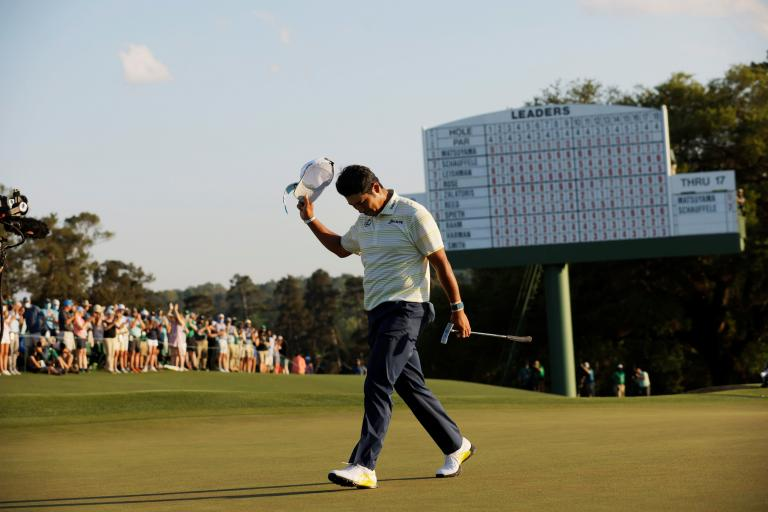 Hideki Matsuyama honoured with Prime Minister's Award following Masters victory