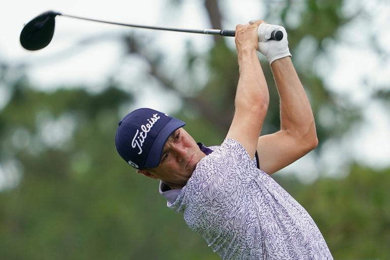 Justin Thomas FUMING about the use of golf laser rangefinders at US PGA