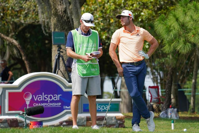 Keegan Bradley holes WALK-OFF EAGLE to share the lead at Valspar Championship