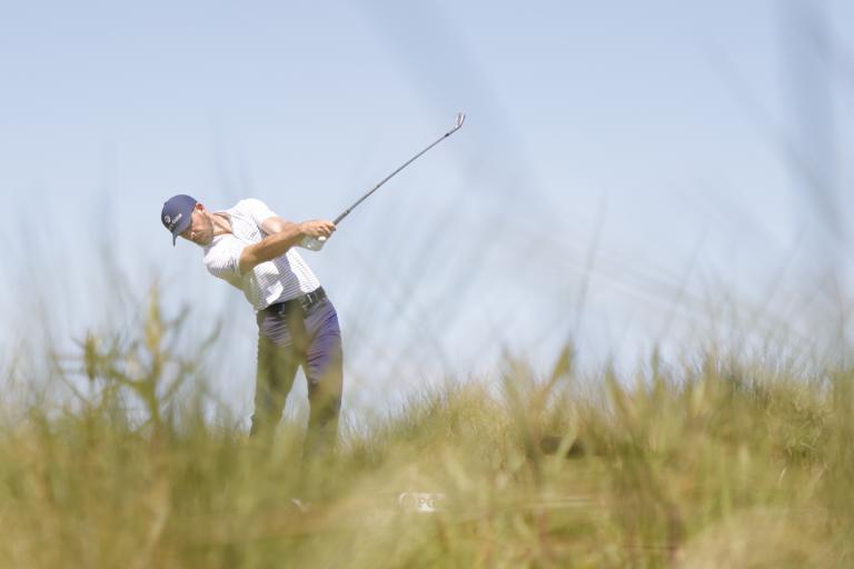 Golf fans react as Billy Horschel CAN'T BELIEVE he found the fairway on PGA Tour