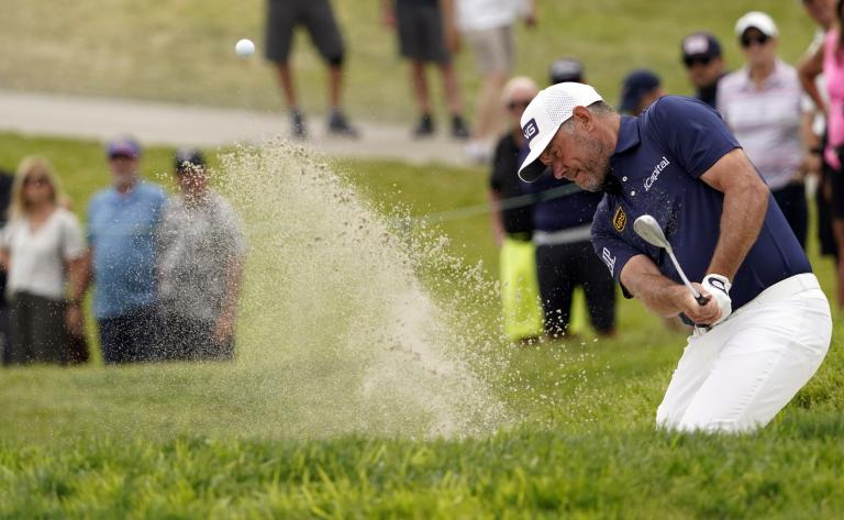 Golf fans react as Lee Westwood WEARS A HOODIE at the US Open!