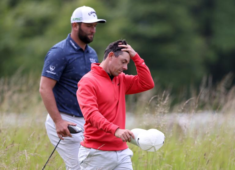 Rory McIlroy responds after golf fan TAKES CLUB from his bag at Scottish Open