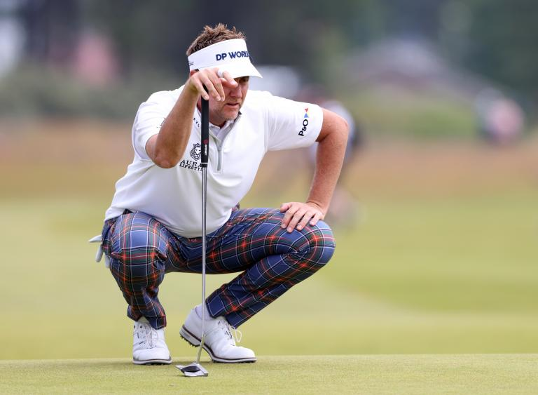 Ian Poulter discusses his CRAZY race from Scottish Open to Euro 2020 final